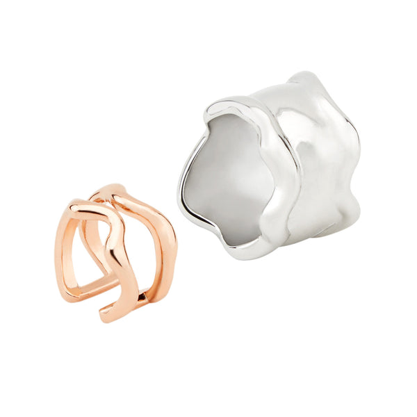 Lava Ring - set of two 01000240