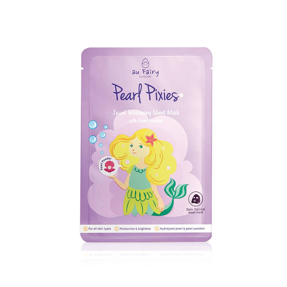 AUFAIRY Pearl Pixies Whitening Mask - Pearl Essence - Yoskin