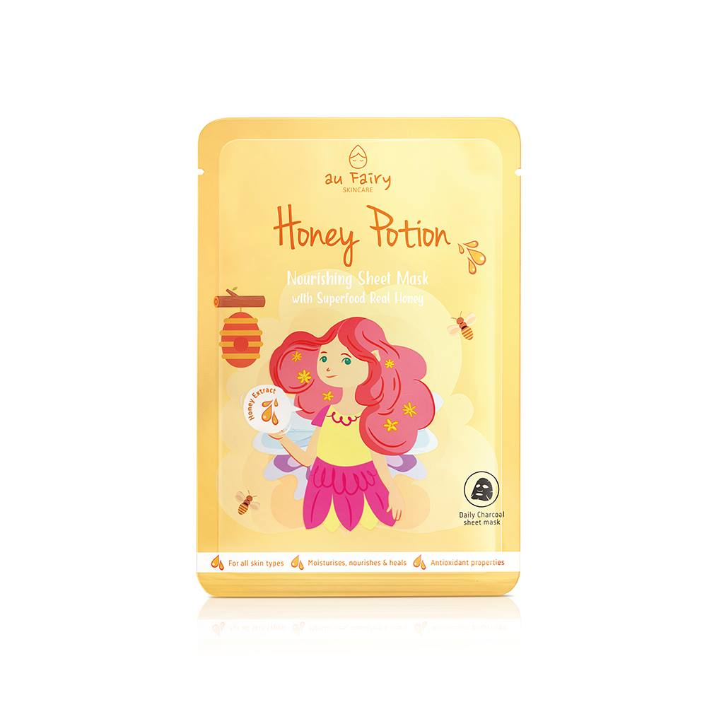 BUY 1 FREE 1: AUFAIRY Honey Potion Nourishing Mask - Honey Essence
