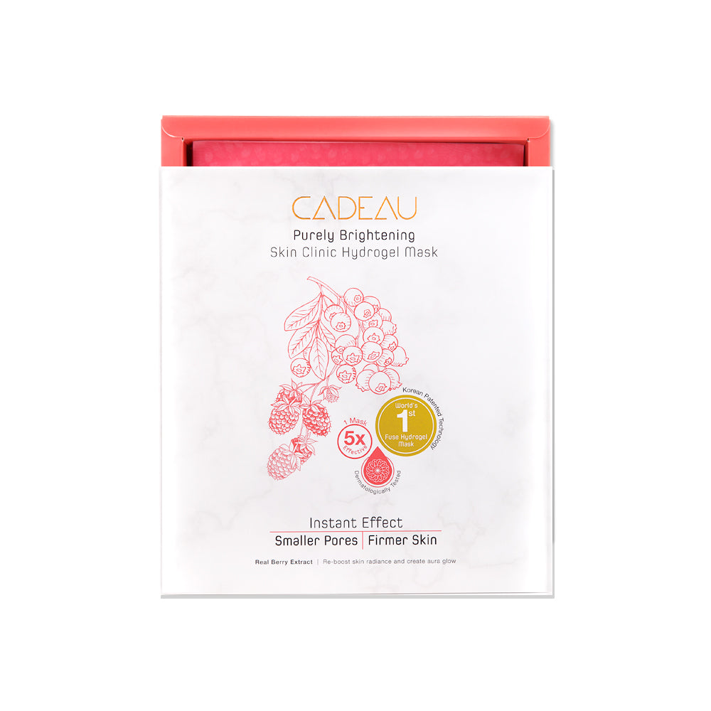 CADEAU Purely Brightening Hydrogel Mask (1PC) - Yoskin