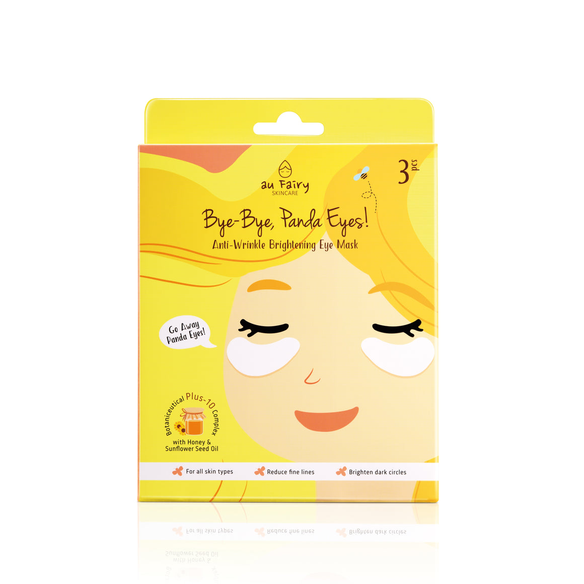 AUFAIRY Bye-bye, Panda Eyes! Anti-Wrinkle Brightening Eye Mask - Yoskin
