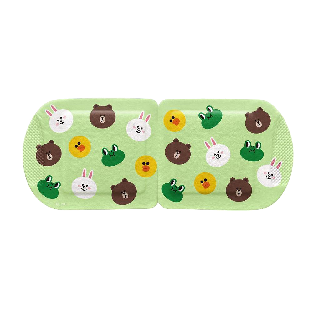 Mediheal Line Friends Warming Eye Mask (Citrus) [Expiry Date: Sep 2019] - Yoskin