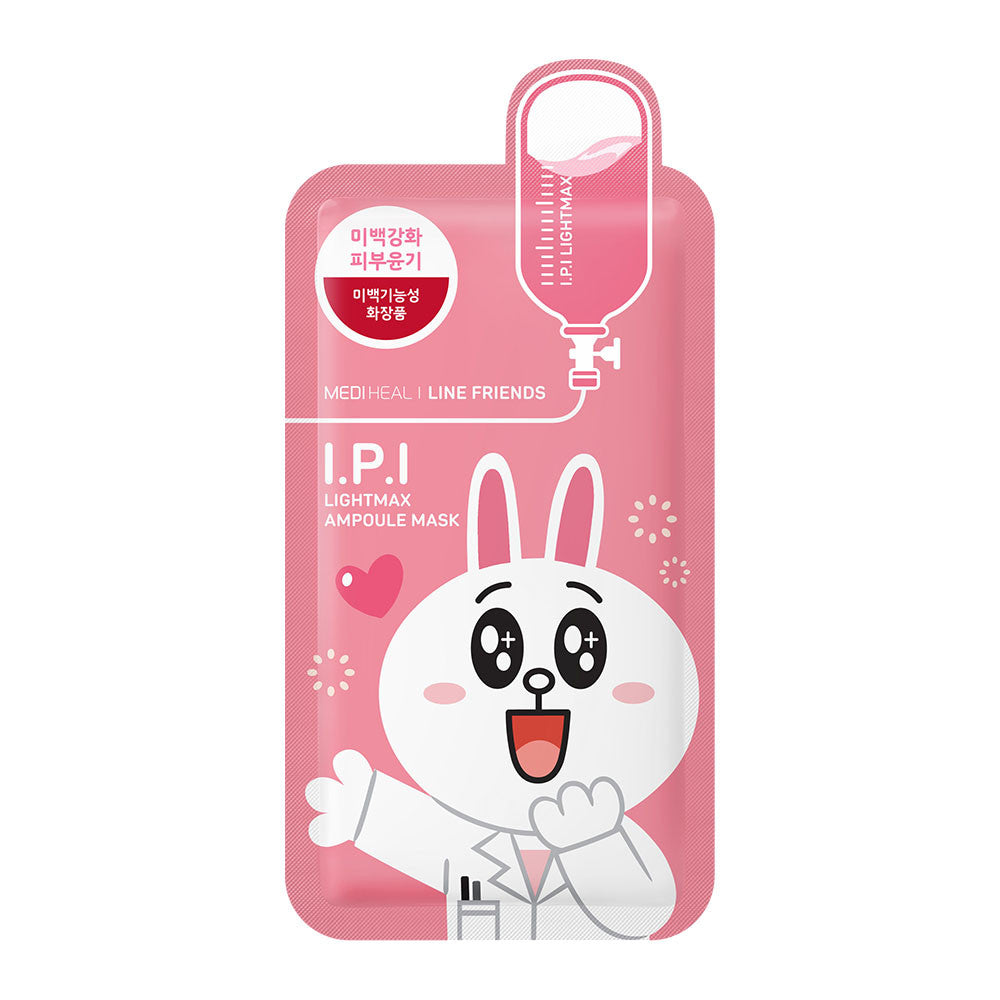[CLEARANCE] Mediheal Line Friends I.P.I Lightmax Ampoule Mask : 1 PC [EXPIRY: SEP '18] - Yoskin