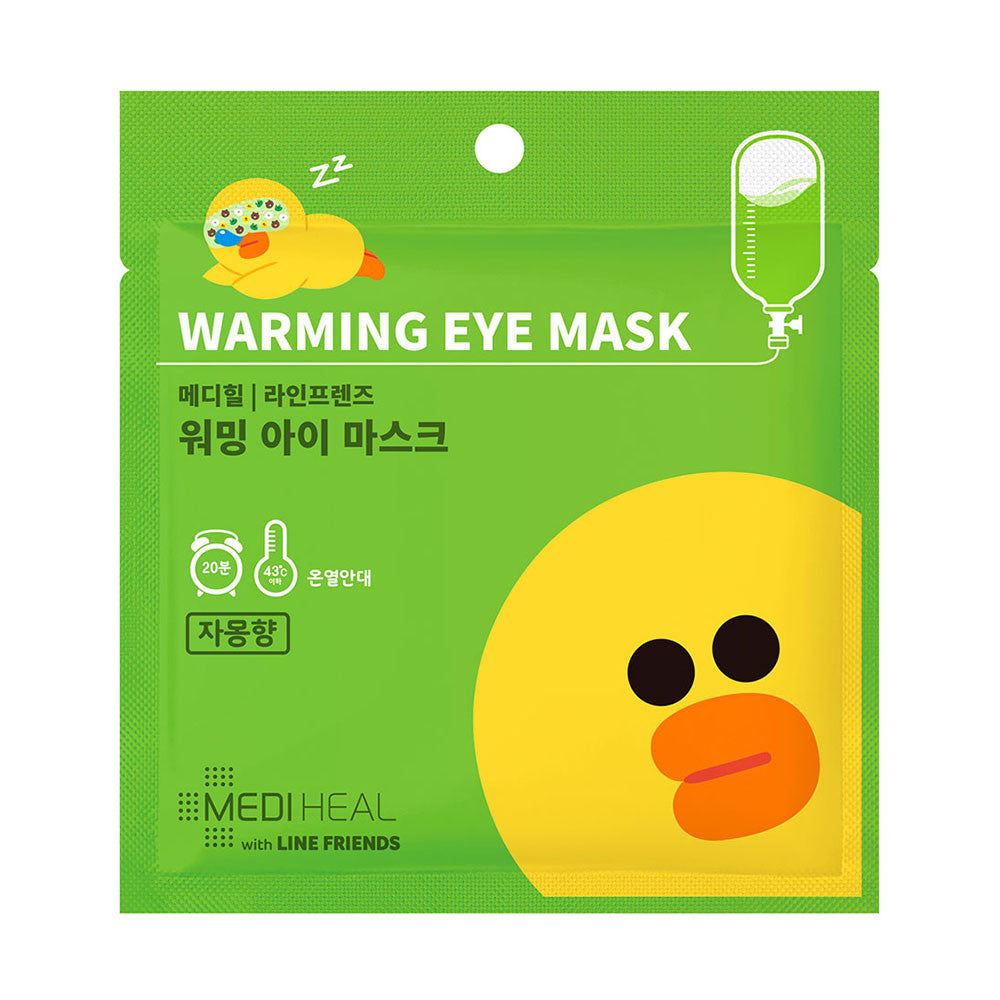Mediheal Line Friends Warming Eye Mask (Citrus)