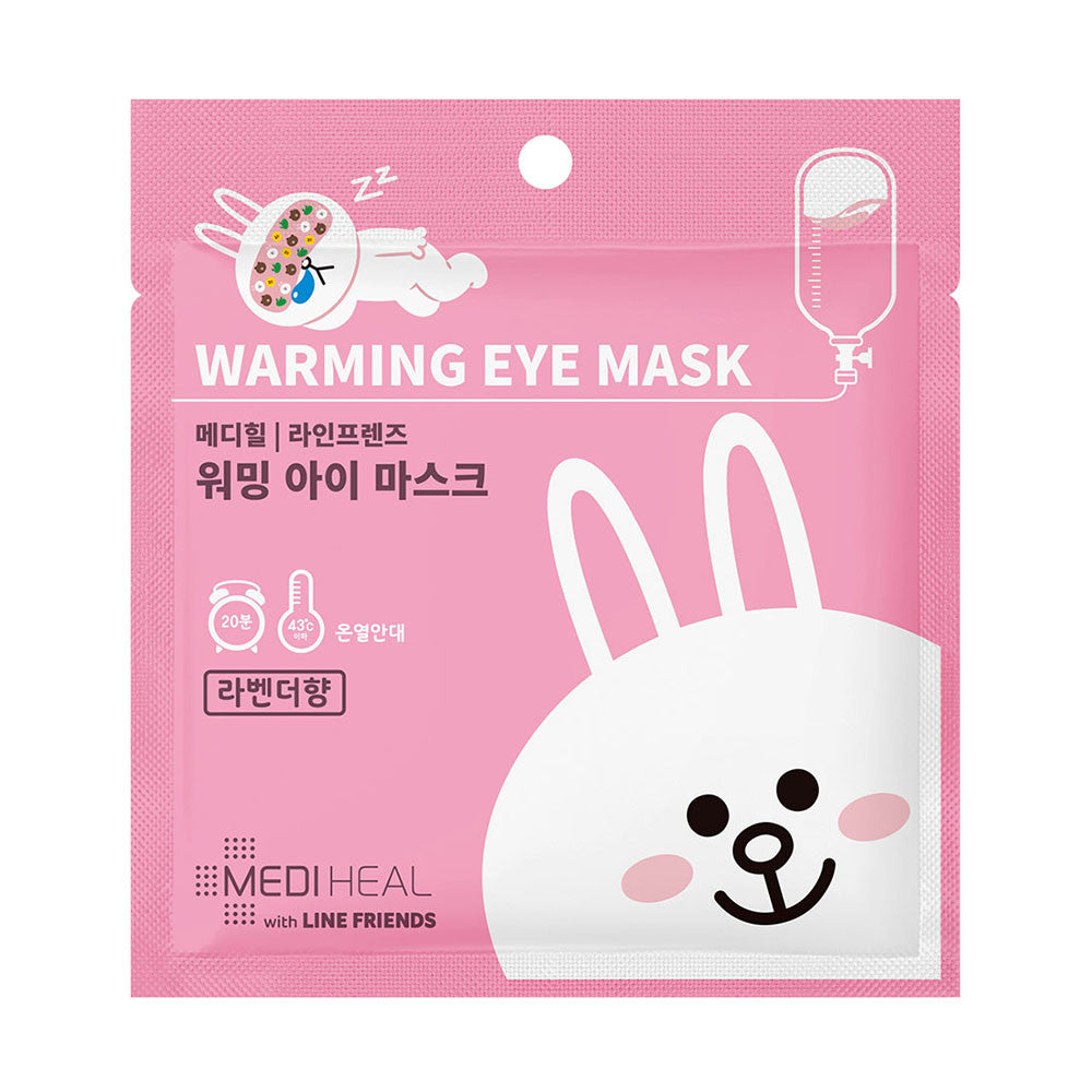 Mediheal Line Friends Warming Eye Mask (Lavender) [Expiry Date: Sep 2019]