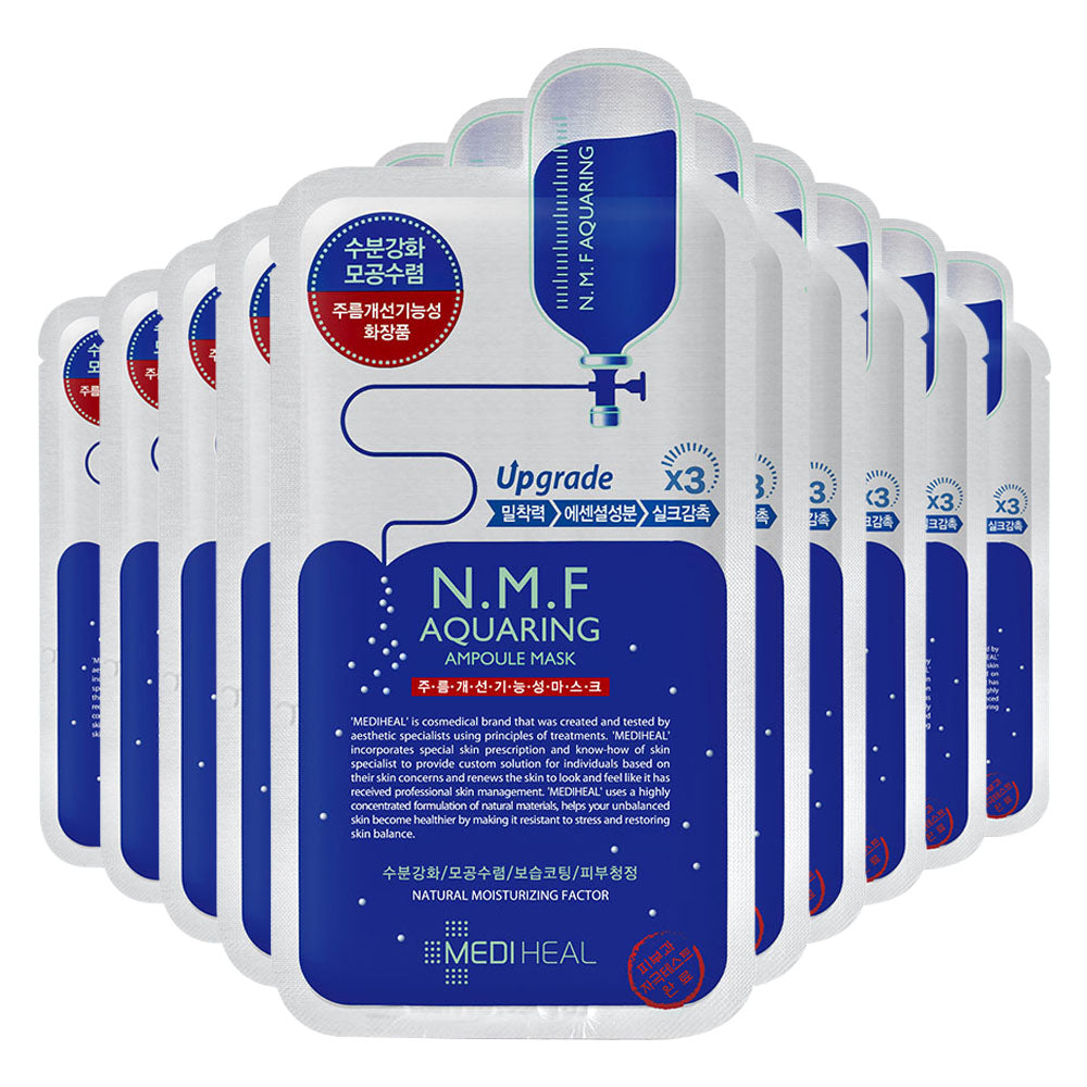 [CLEARANCE] Mediheal N.M.F Aquaring Ampoule Mask [EXPIRED DATE : SEPTEMBER 2019] - Yoskin