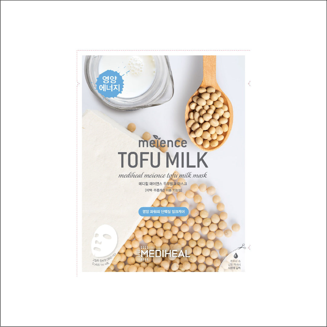 Mediheal Meience Mask Box- Tofu Milk: 10pcs - Yoskin