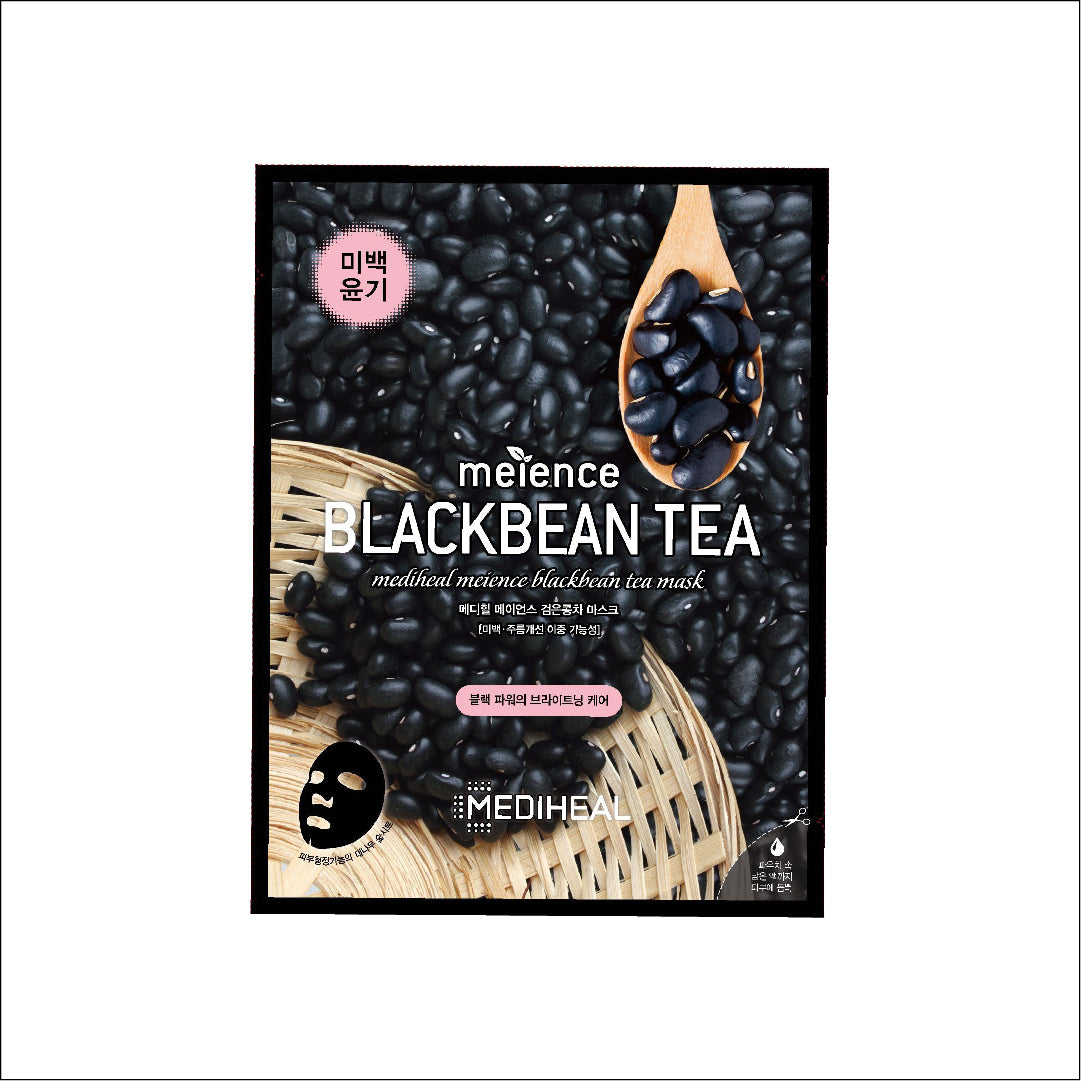 Mediheal Meience Mask Box- Blackbean Tea: 10pcs - Yoskin