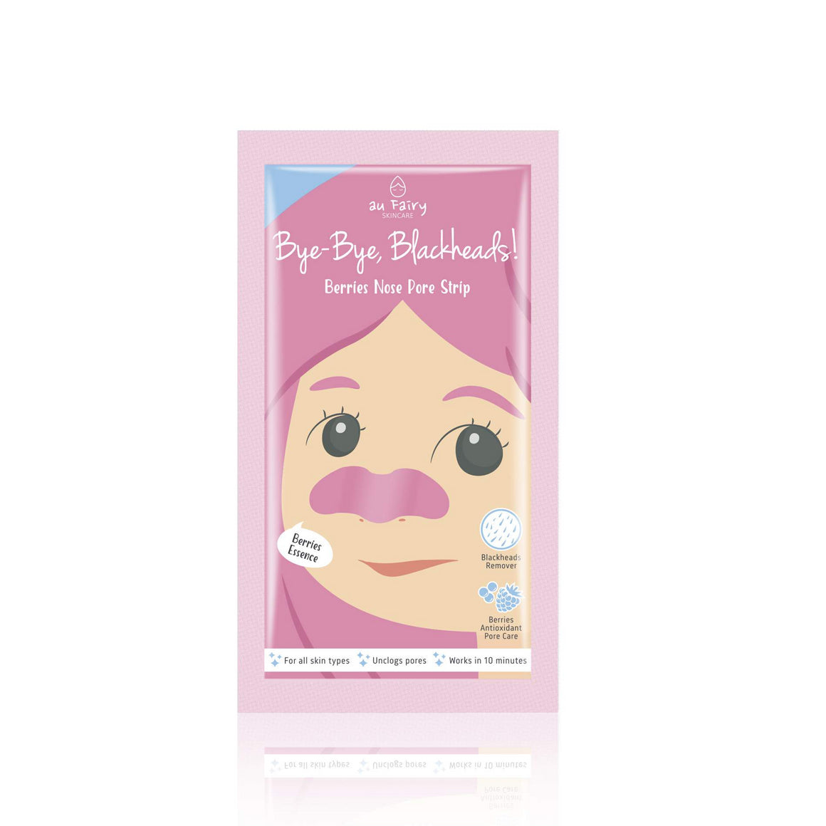 AUFAIRY Bye-bye, Blackheads! Berry Nose Pore Strip - Yoskin