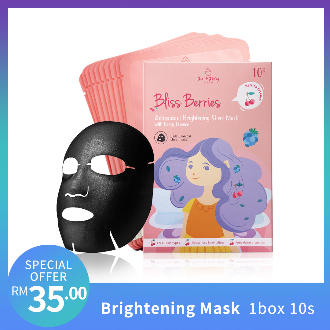AUFAIRY Bliss Berries Brightening Mask - Berries Essence