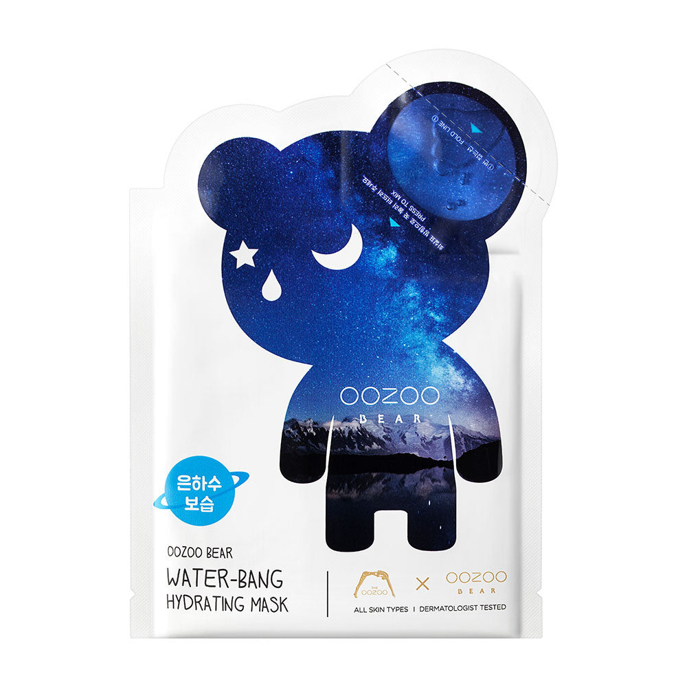 [CLEARANCE] THE OOZOO OOZOO Bear Water-bang Hydrating Mask : 1 PC [EXPIRY: SEP '19] - Yoskin