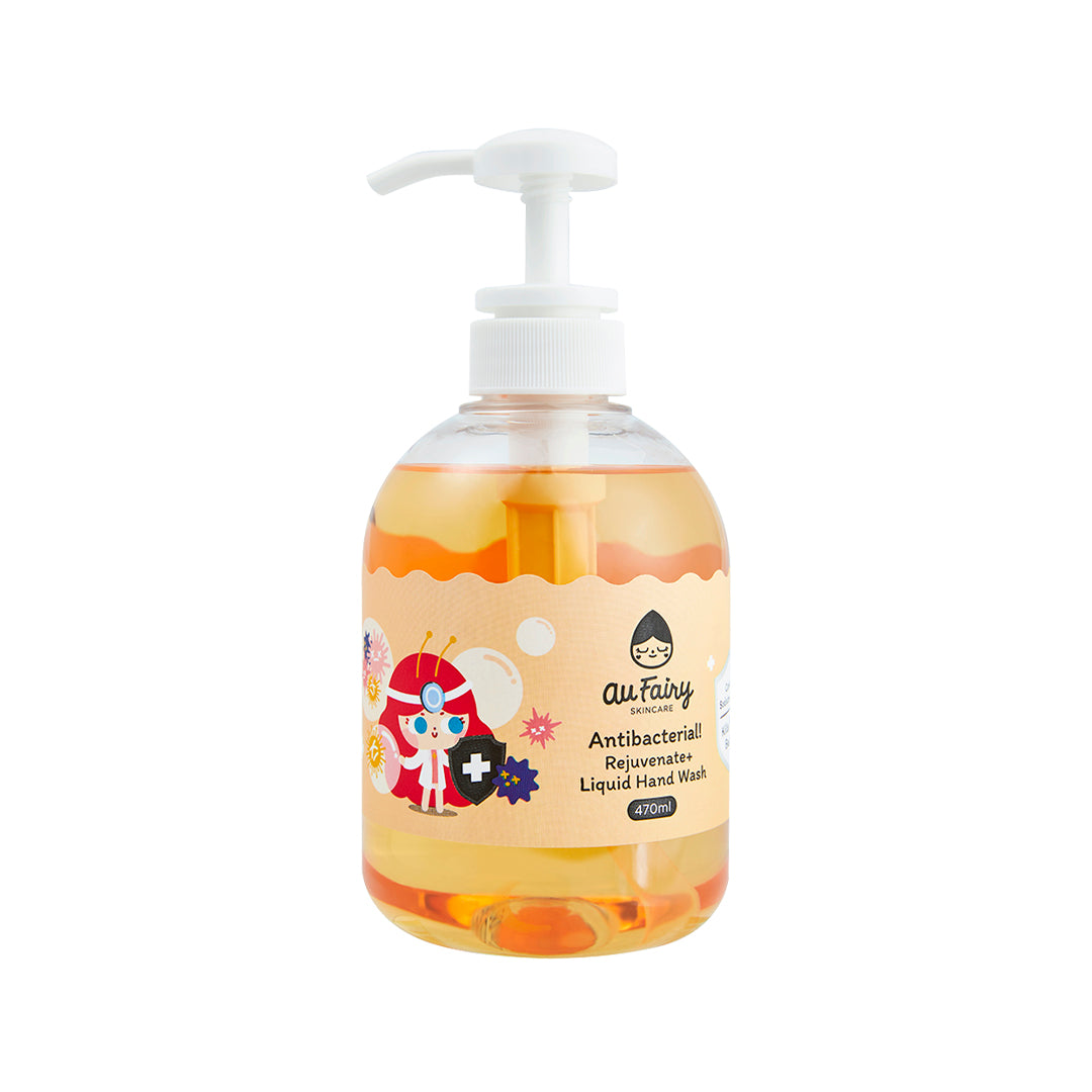 Au Fairy Antibacterial! Rejuvenate+ Liquid Hand Wash 470ml