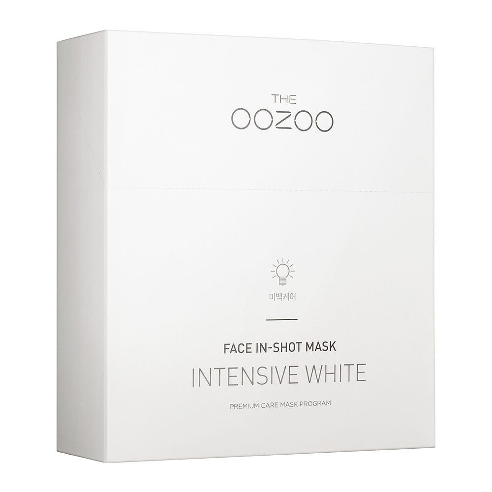 THE OOZOO Face In-Shot Mask Intensive White - Yoskin
