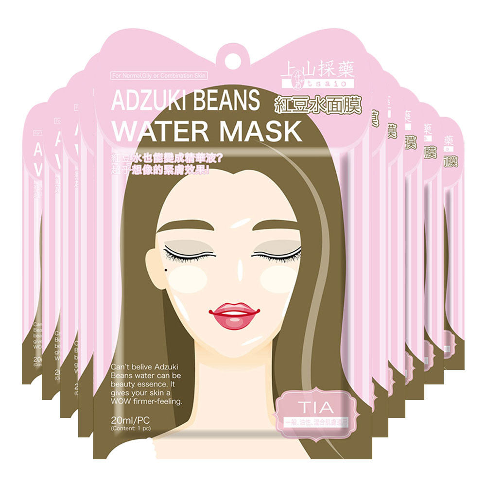 Tsaio Adzuki Beans Water Mask for Normal/Oily/Combination Skin (Tia) [EXP DATE:24-02-2020] - Yoskin