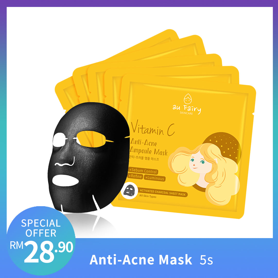 AUFAIRY Anti Acne Ampoule Mask - Vitamin C - Yoskin