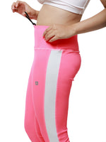 Neon Pink Summer Breeze Capri