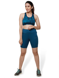 Teal Free Bird Training Shorts