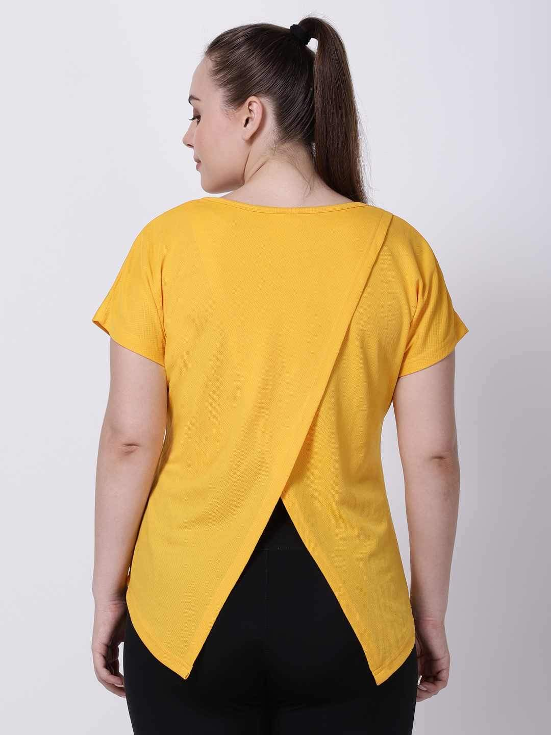 Gold I-Have-Your-Back Tee