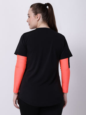 Neo-Orange Arm Sleeves
