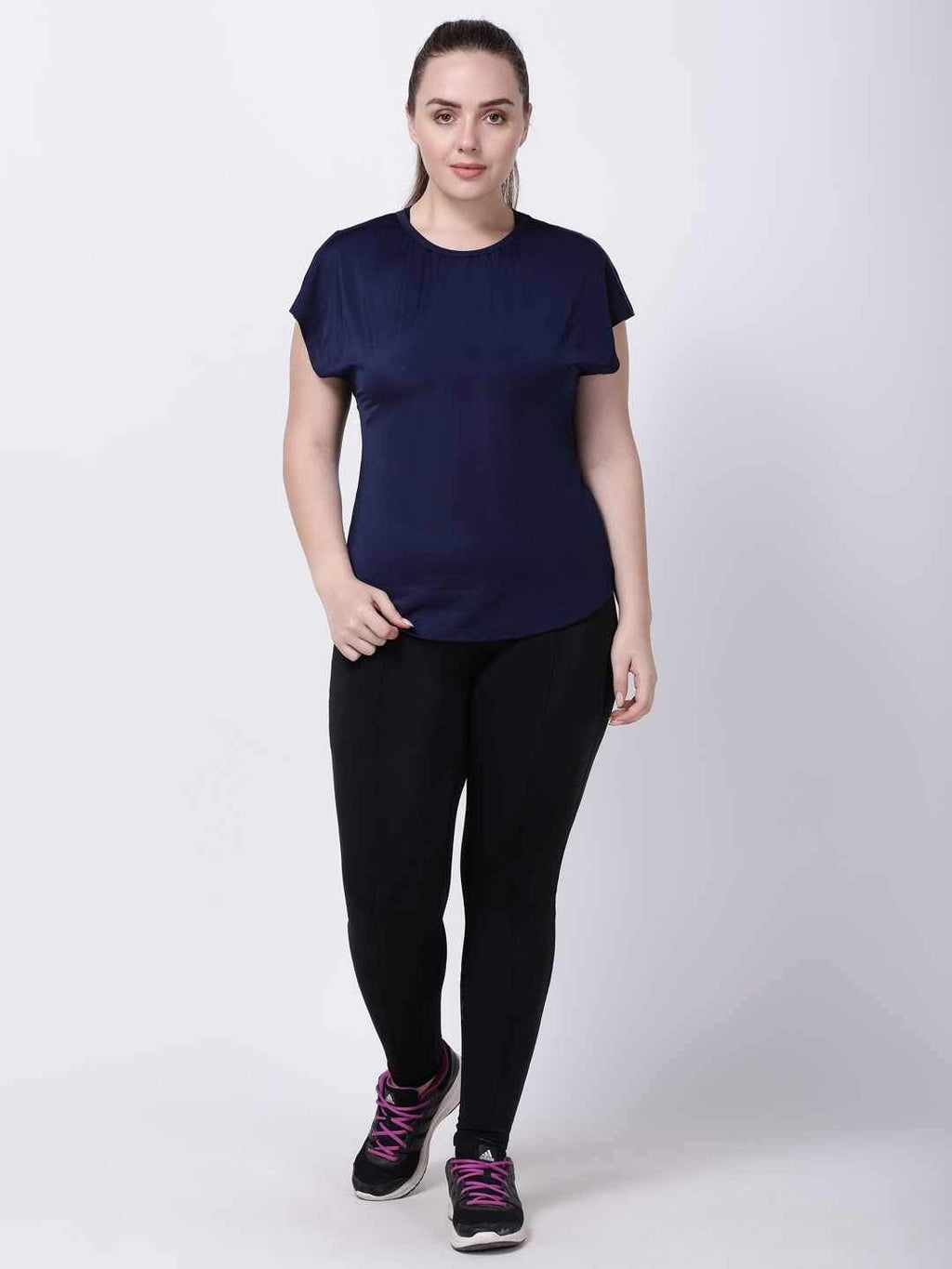 Navy Mesh I-Like-It-Cool Tee