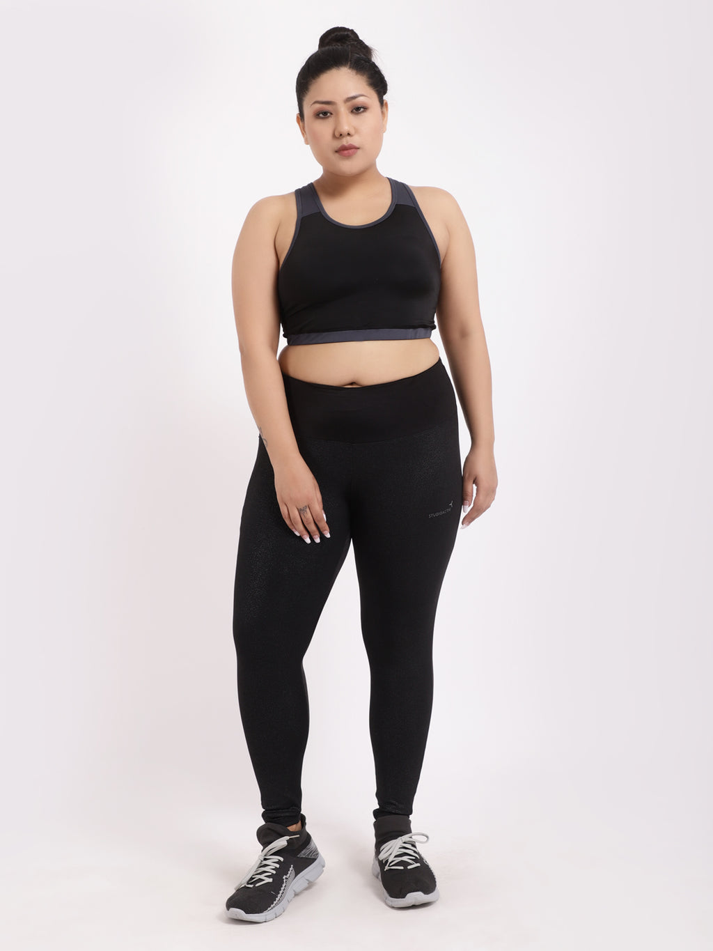 Plain Black Premium Leggings