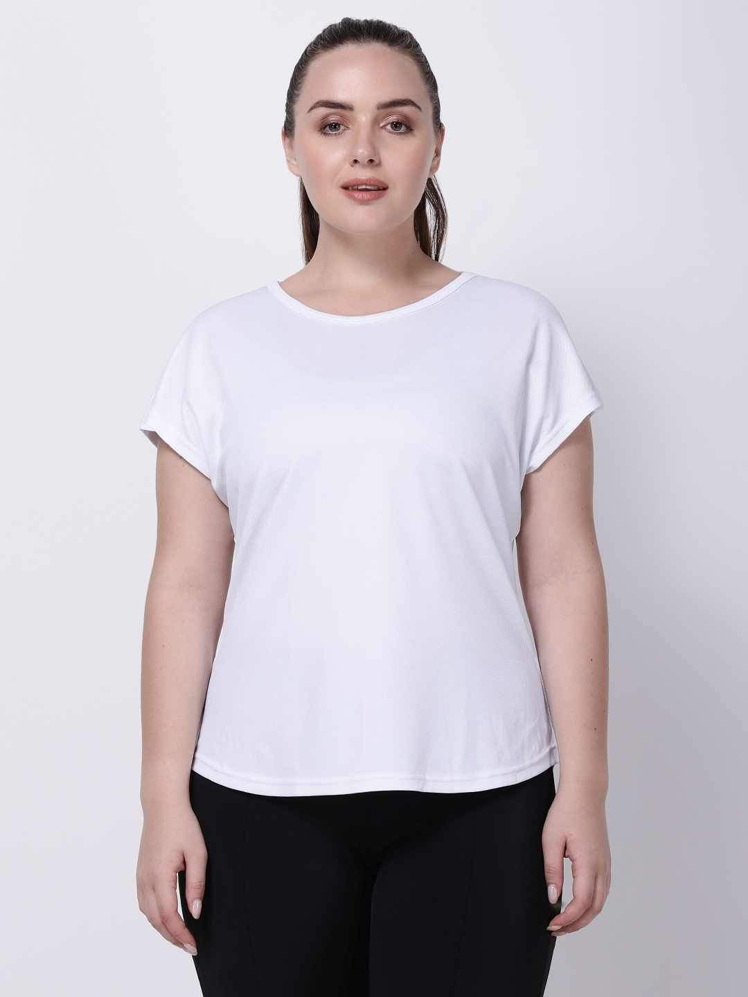 White Mesh I-Like-It-Cool Tee