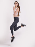 Grey Power Fashion Leggings