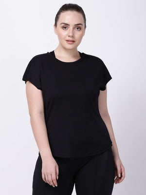 Black Mesh I-Like-It-Cool Tee