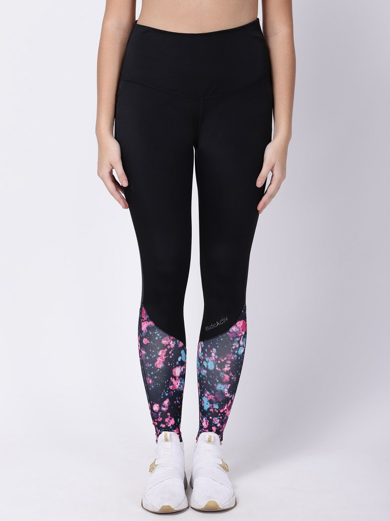 Black NeoPrint Style Diva Leggings