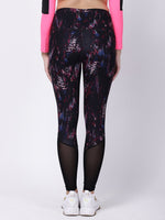 Black Pink Print Power Fashion Leggings