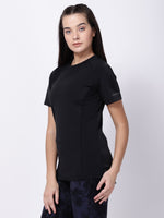 Black Oh-So-Smart Tee