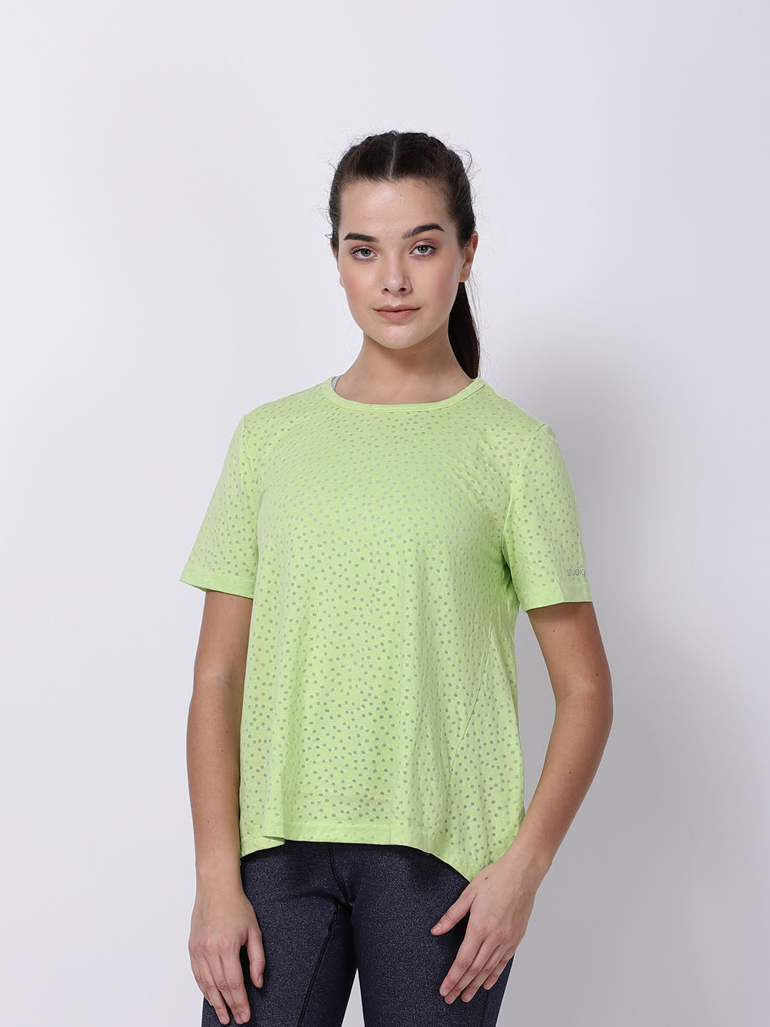 Lime Green Soul Bird Tee