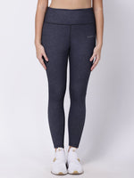 Navy Melange Oh-So-Smart Leggings
