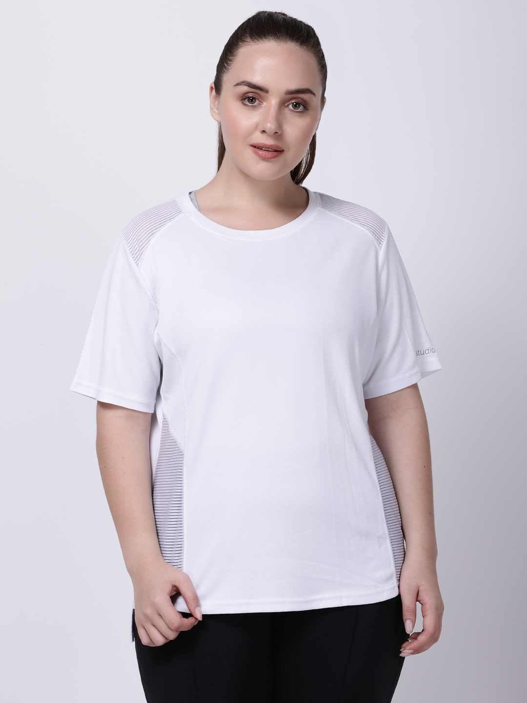 White Oh-So-Smart Tee