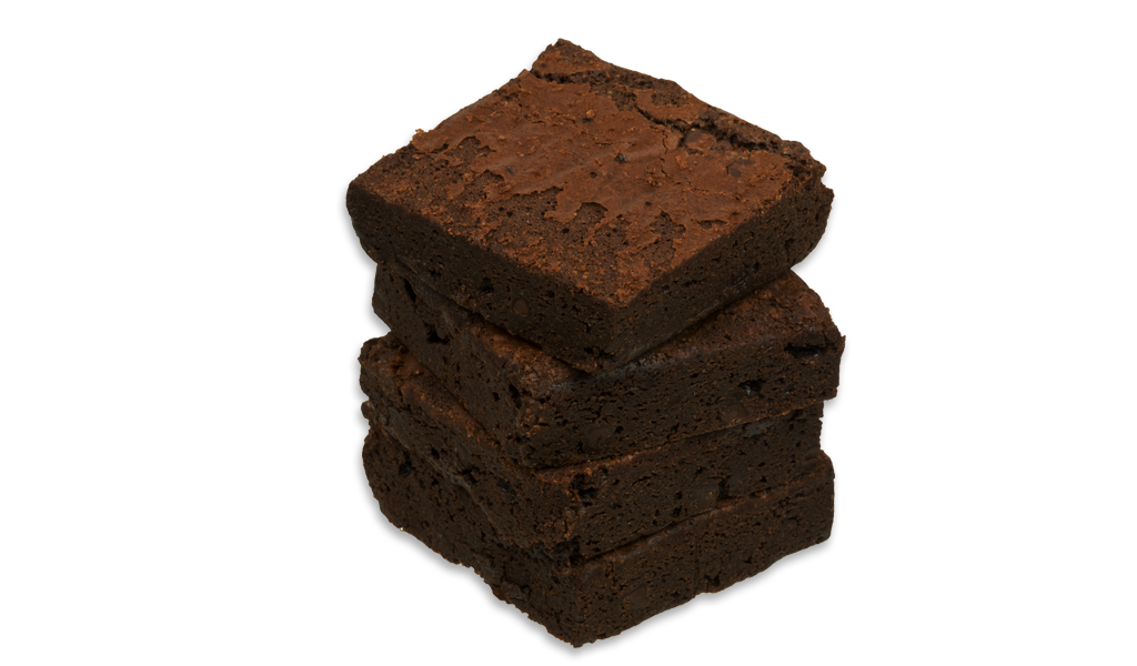 Low Carb Diet Brownie | Dark Chocolate Fudge (Box of 5)| Feel Mighty - Feel Mighty