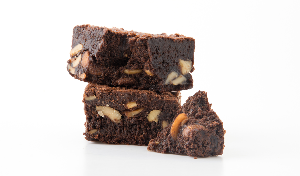 Low Carb Diet Brownie | Chocolate Walnut (Single)| Feel Mighty - Feel Mighty
