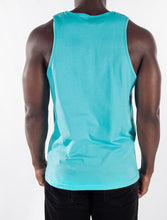 Turquoise International Summer Vibes Tank back