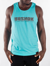 Turquoise International Summer Vibes Tank Front