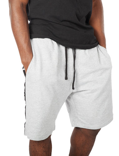 BOSHOK Script Band Terry Cloth Shorts