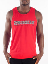 Red International Summer Vibes Tank Front