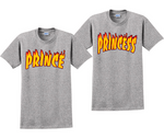 Prince And Princess Couples Thrasher Matching T-Shirts
