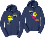 He's My Minion She's My Minion Hoodies Couples Matching Sweatshirts