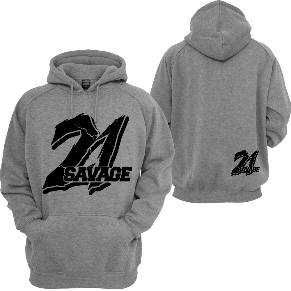 21 Savage Hoodie Supreme Savage Slaughter Gang I Feel Like Pablo Sweatshirt