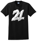 21 Savage T Shirt Supreme ISSA Supreme Music RAP Unisex Tee Shirts