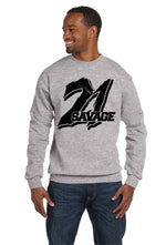 21 Savage Crew Neck Supreme Savage Slaughter Gang I Feel Like Pablo Sweatshirt