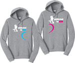 Addicted To Her and Addicted To Him Couples Matching Hoodie Sweatshirts