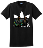 Tupac Biggie T Shirt Adidas 2Pac The Notorious Tee Shirts