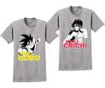 Her Goku And His Chichi Couples Matching T-Shirts