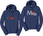 Soul Mate Hoodies Couples Matching Sweatshirts
