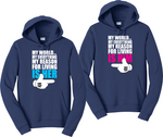 My Heart Only Beats For Her/Him Couples Hoodies Matching Sweatshirts
